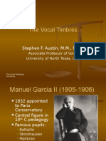 The Vocal Timbre s