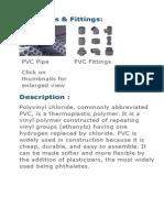 Plastic & PVC Products