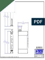 100POE Splitter Dimension Drawing