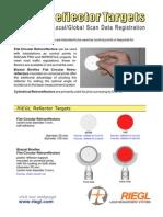 10 DataSheet Reflector-Targets 22-08-2006