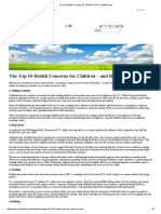 Top 10 Health Concerns for Children _ CRC Health Group