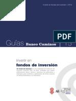 Invertir en Fondos de Inversion