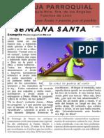 Hoja Parroquial nº1482 Ciclo B Semana Santa