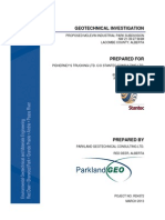 Final Geotechnical Report - PARKLAND Geo