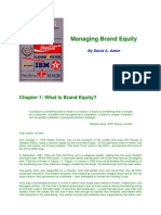 05. Managing Brand Equity