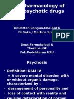K26 - Pharmacology of Antipsychotic Drugs
