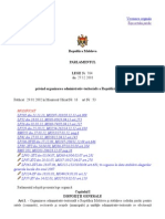 Organizarea administrativ-teritorială a Republicii Moldova