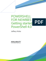 Powershell for Newbies Getting Started Powershell4