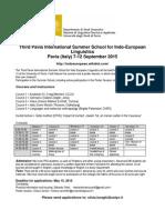 Pavia 2015 Program