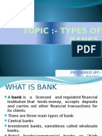 Ppt on Types of Banks