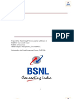 Report on BSNL-Kanpur