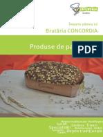 Catalog Panificatie Brutaria CONCORDIA