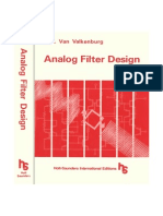 Analogue Filter Design