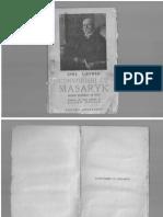 Convorbiri cu Masaryk filosof şi bărbat de stat
