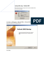Outlook Email Setup Instructions