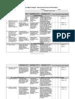 work sample - instructional lesson plan rubric april 2012