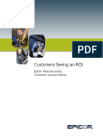 Epicor Manufacturing CaseStudy Booklet