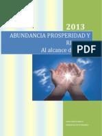 ABUNDANCIA PROSPERIDAD RIQUEZA