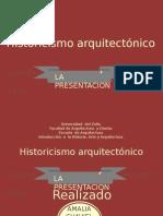 Historicismo Arquitectonico