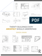 Simon Unwin - Twenty Buildings Every Architect Should Understand