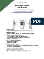 Manual Baofeng BF-888