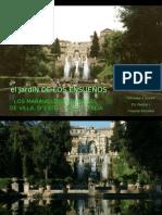 El Jardín de los Ensueños - Tivoli - Villa d`Este - Italia