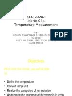 Karte 04 - Temperature Measurement
