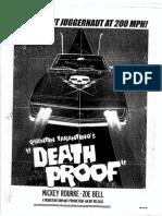 Death Proof Script