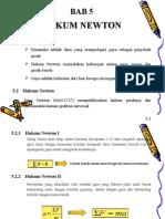 Bab5 Hukum Newton