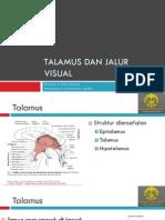 Talamus Dan Jaras Visual