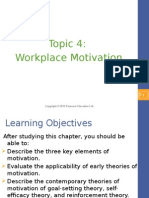 Topic 4 - Workplace Motivation (A142)