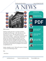 Suffolk Law SBA Newsletter 19 - 3/30/15