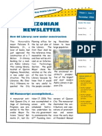 Quezonian Newsletter December 2006