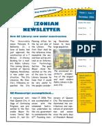 Quezonian Newsletter December 2006