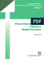 Stress Intensity Factors Vol. 50 (2008)