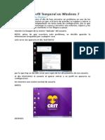 Solucion a Perfil Temporal en Windows 7