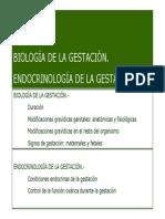 Tema 7. Biología de la gestación. Endocrinología de la gestación.