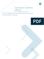 Designing Intelligent Transportation Systems White Paper