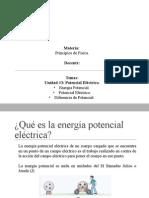 Energia Potencial Electrica