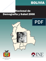 Encuesta Nacional de Demografia e Salud-2008