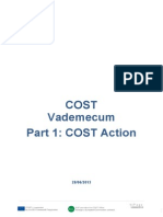 Vademecum Part 1 COST Actions