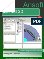 Ansoft Maxwell2D V12 2009