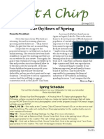 Spring 2015 GP Audubon Newsletter