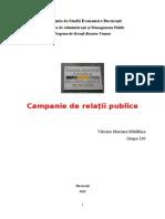 Campania de Relatii Publice