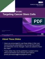 CCO Cancer Stem Cells Slides
