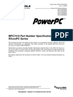 MPC7410PCPNS