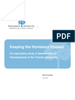 Keeping the Homeless Housed Final Report