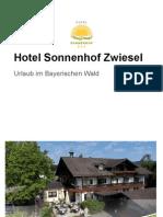 Hotel Sonnenhof Zwiesel