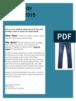 Denim Day Flyer 2015