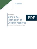 1. Manual de Inscripcion Chileproveedores Con Registro Previo en Mercadopublico